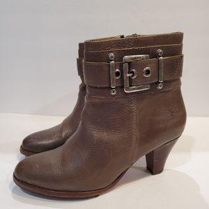 Frye womens size 10 greenish grey buckle boot